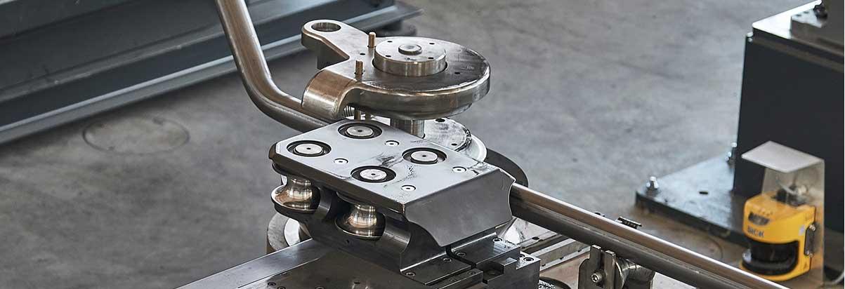 Rohrbiegemaschine Detailansicht