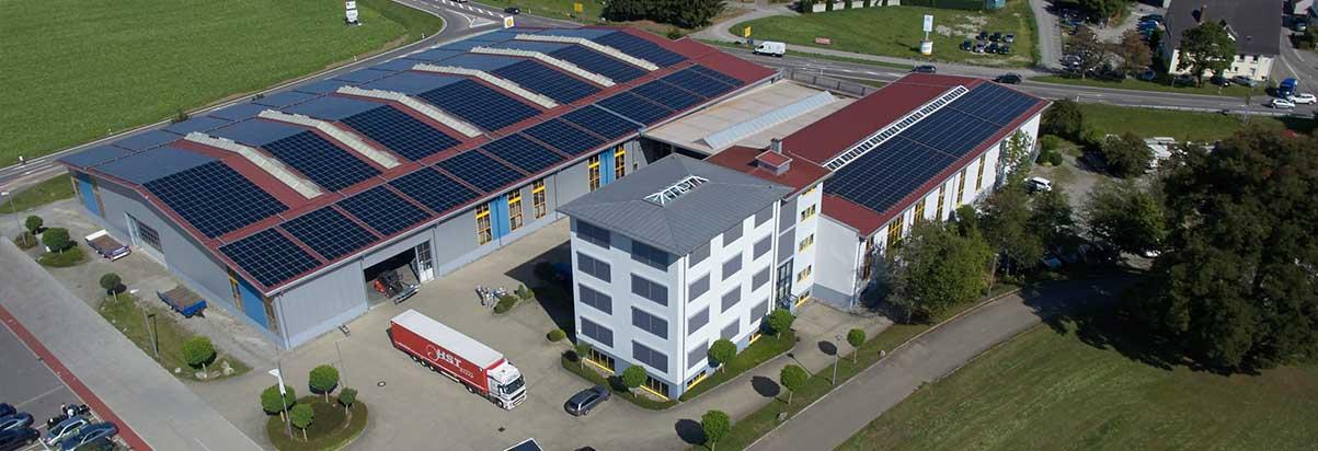 Firmenzentrale in Oberessendorf